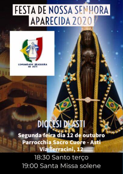 Alla parrocchia Sacro Cuore la festa della Madonna di Aparecida, patrona del Brasile