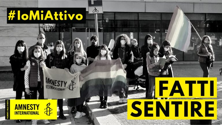Amnesty International presenta anche ad Asti #Iomiattivo