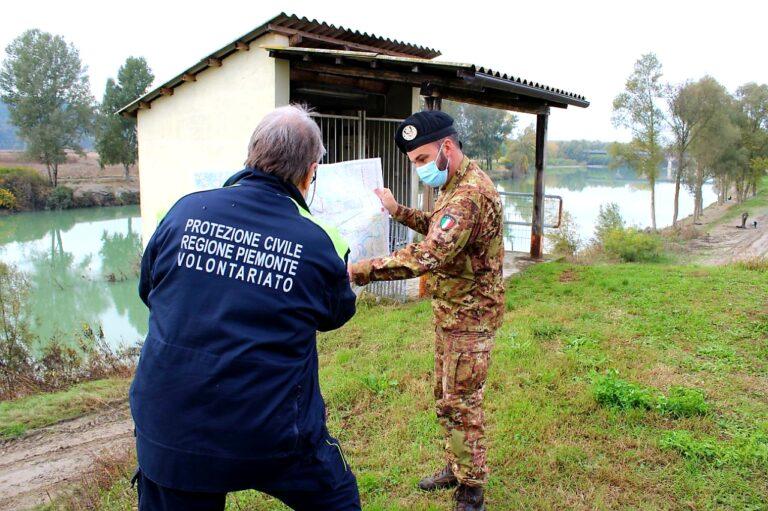 Castello di Annone: droni monitorano il fiume Tanaro