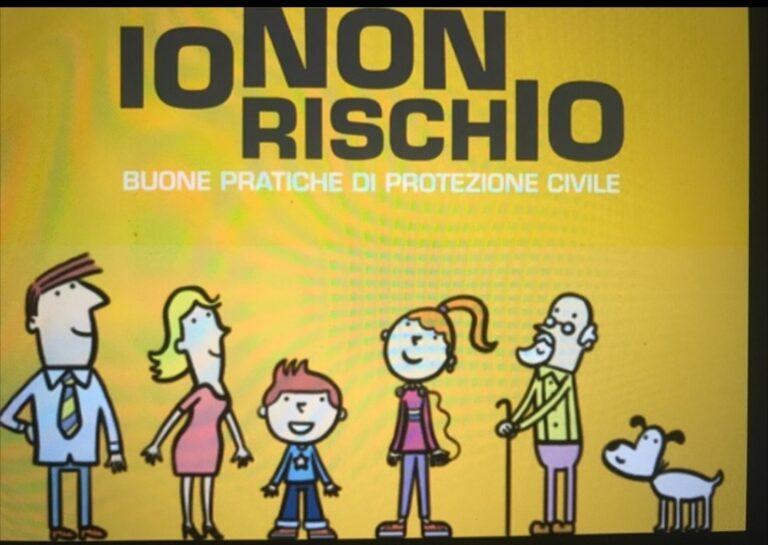 """La protezione civile di Canelli aderisce alla campagna """"Io non rischio"""""""