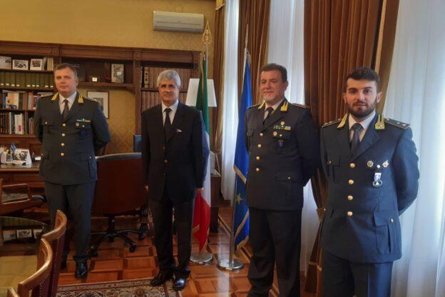 Nuovi arrivi alla guardia di finanza di Asti