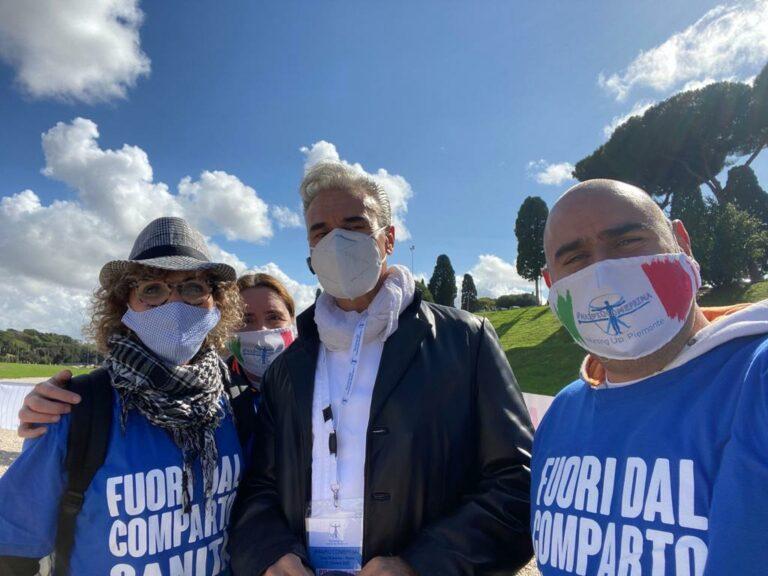 Anche da Asti infermieri a Roma chiedendo rispetto per la professione