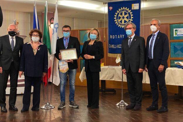 Anche alla Croce Verde di Nizza Monferrato il premio Paul Harris Fellow 2020