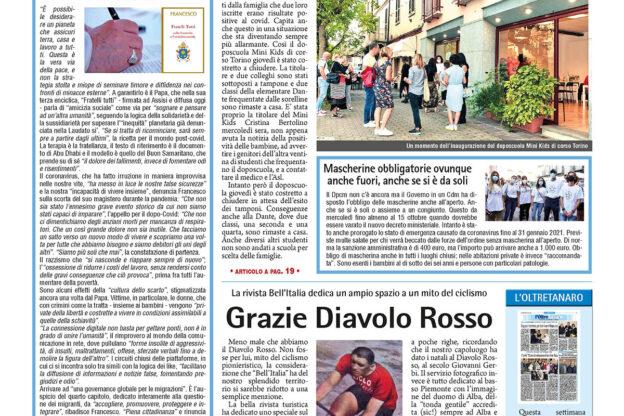 Prima pagina – 9 ottobre 2020