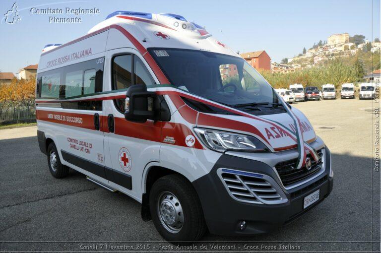 """La denuncia della Cri di Canelli: """"Nel distretto più popoloso e industriale del Sud Astigiano e della Valle Belbo manca un'ambulanza h24 con infermiere a bordo"""""""