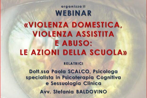 Un incontro sulla violenza domestica, violenza assistita e abuso: le azioni della scuola