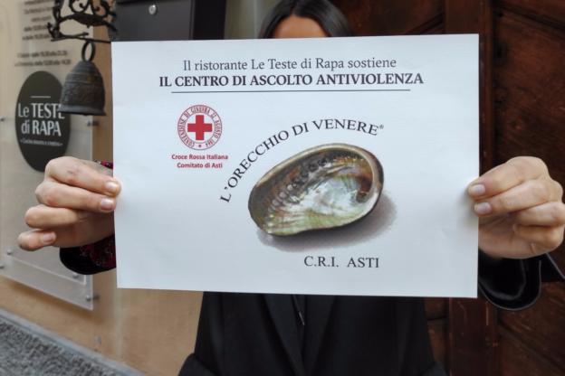 Asti, il ristorante Teste di Rapa in aiuto del centro anti-violenza L'Orecchio di Venere