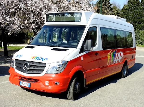 Variazioni per gli autobus di Asp nel periodo natalizio