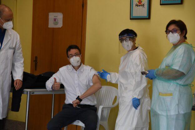 V-Day, i primi vaccini alla Casa di Riposo Città di Asti: la fotogallery