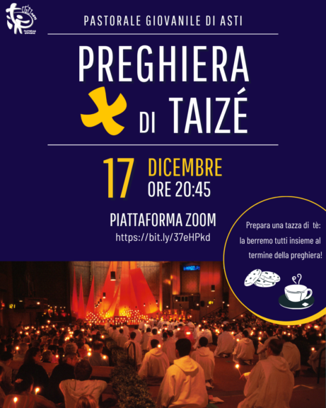 Una serata di riflessione insieme con la preghiera di Taizé