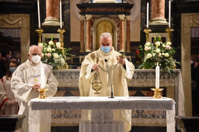 Don Antonio Delmastro nuovo parroco di Villafranca: la fotogallery