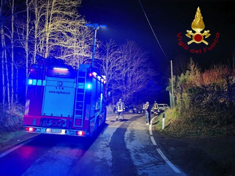 Asti, incidente stradale a Valgera
