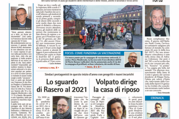 Prima pagina – 8 gennaio 2021