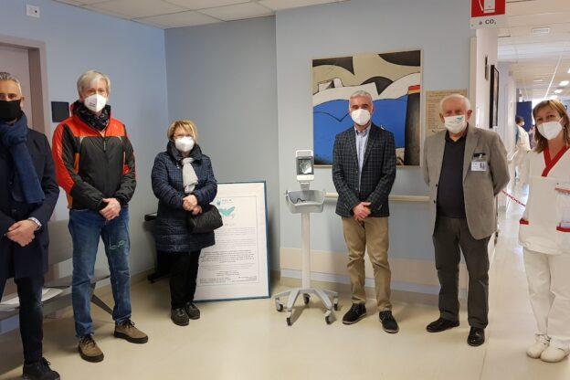 Donato nuovo monitor alla Cure Palliative Asl At da parte dell'Associazione Con Te OdV