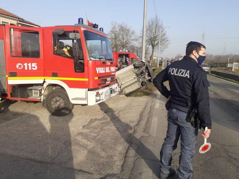 Asti, incidente in corso Ivrea