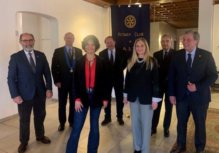 Quattro nuovi ingressi nel Rotary Club di Asti