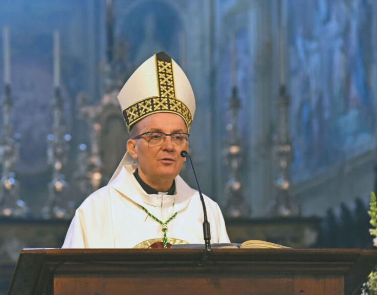Gli auguri di Pasqua del vescovo Marco
