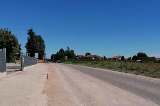 Ripristino del manto stradale definitivo dopo i lavori per la condotta fognaria di Variglie