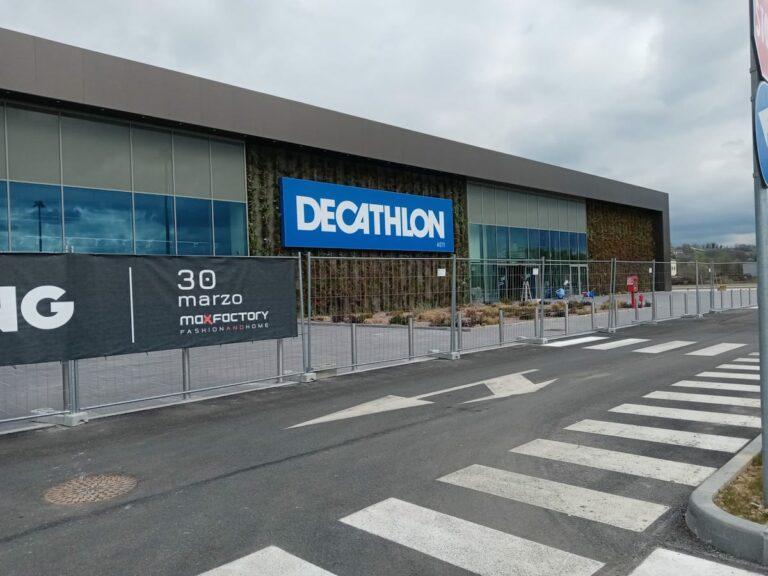 Asti, Decathlon domani inaugura