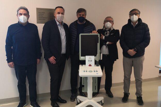 Asti, l'ospedale Massaia ha un nuovo ecografo grazie alla generosità del territorio