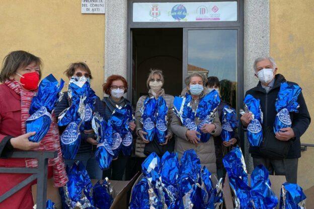 Asti, donate alla Banca del Dono 300 uova di Pasqua
