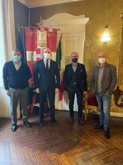 Filippo Pinsoglio nuovo maestro del palio 2021