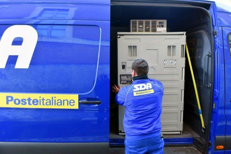 Asti, Poste Italiane consegna 1200 dosi di vaccino Moderna