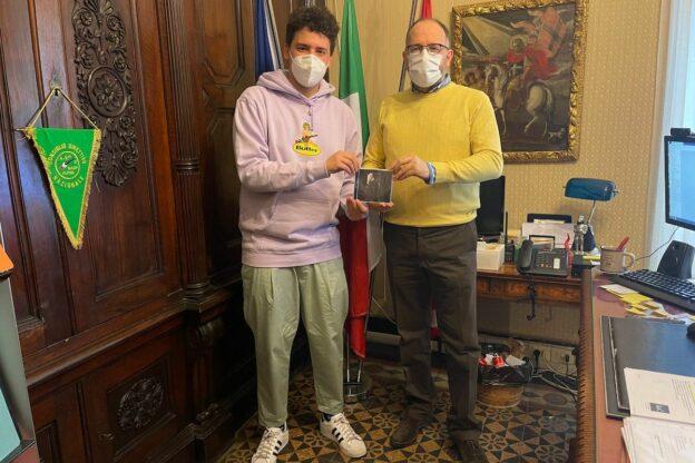 Asti, il giovane Strauss ricevuto dal sindaco Rasero