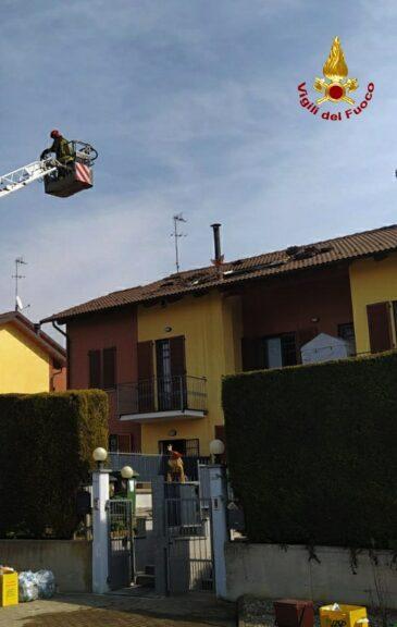 Asti, i vigili del fuoco intervento per un incendio in via Bigliani