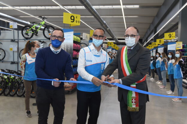 Asti, apre Decathlon e assume 16 persone