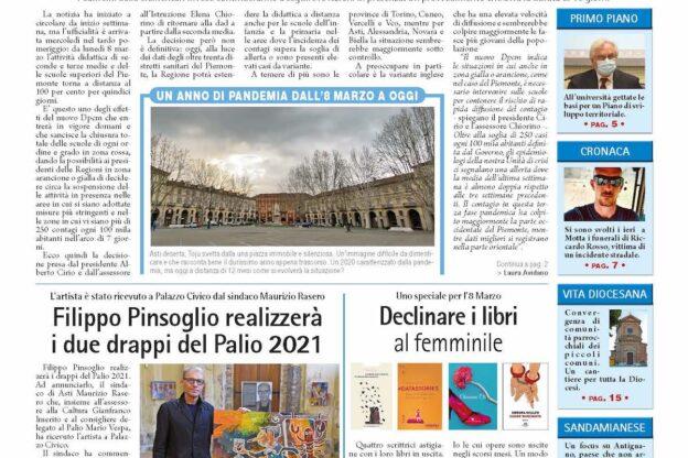 Prima pagina – 5 marzo 2021