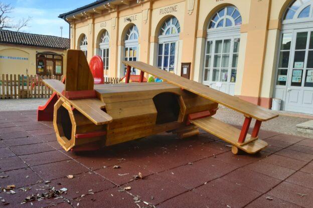 Giochi e pannelli ludici con i fondi del 5X1000 per il Comune di Castagnole delle Lanze