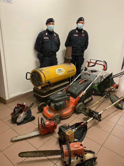 Furto di mezzi agricoli: i carabinieri denunciano un costigliolese