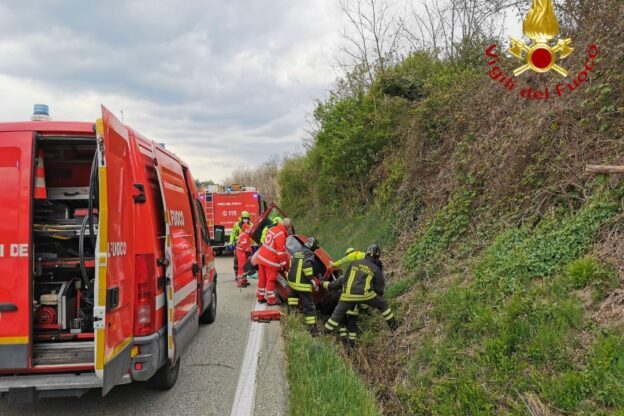 Incidenti stradali nell'Astigiano