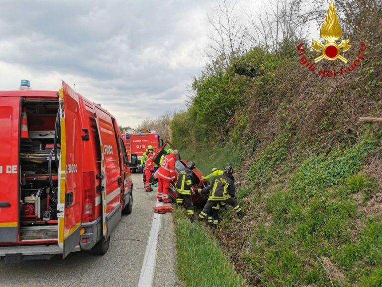 Incidenti stradali nell'Astigiano