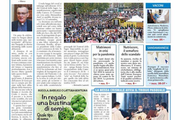 Prima pagina – 2 aprile 2021