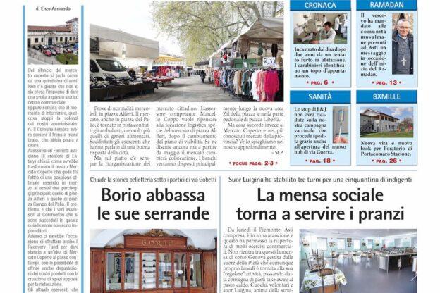 Prima pagina – 16 aprile 2021
