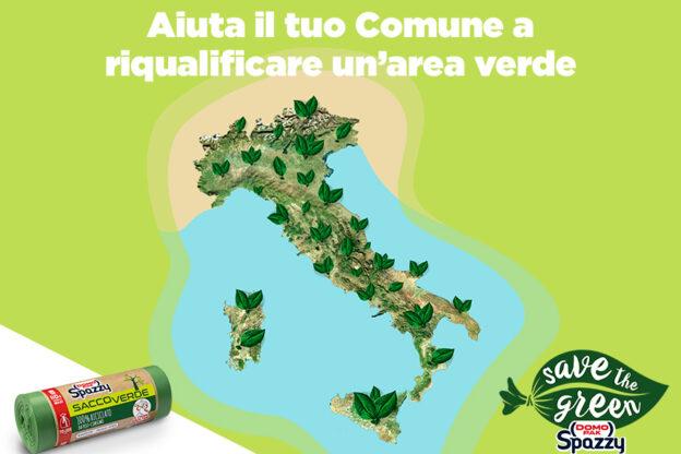 """Asp e Comune di Asti aderiscono all'iniziativa """"Save the Green"""" promossa da Junker App e Domopak Spazzy"""