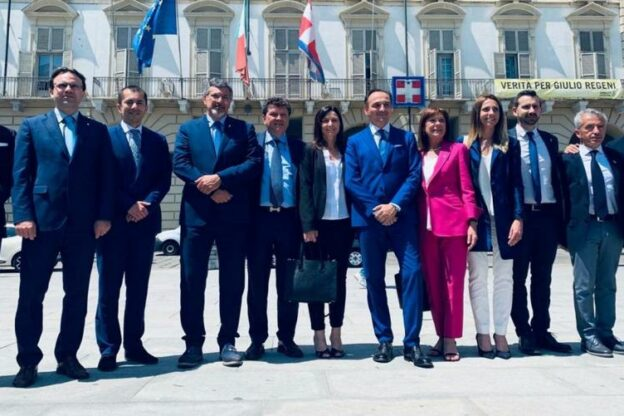 Il presidente Cirio e la giunta regionale domani ad Asti per un incontro interno