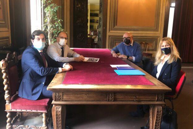 Asti, ricevuto in Municipio Alessandro Tarabuso Presidente del Comitato Regionale Piemonte delle Polisportive Giovanili Salesiane