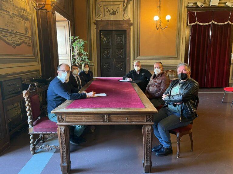Asti, in Municipio ricevuta una delegazione di sindacati della polizia penitenziaria