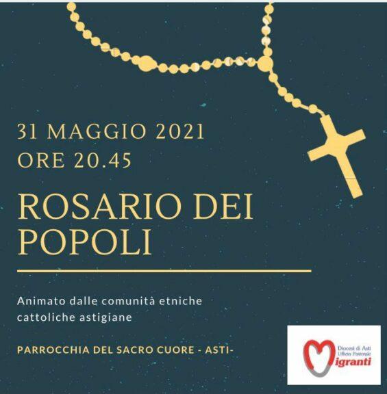 Nella chiesa del Sacro Cuore il Rosario dei Popoli