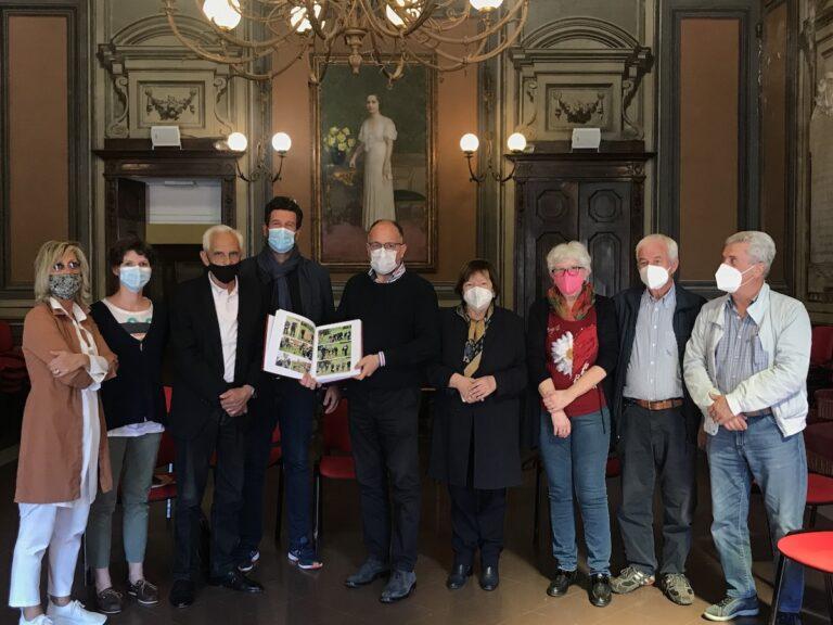 Asti, in Municipio il libro della storia del Parco Fruttuoso