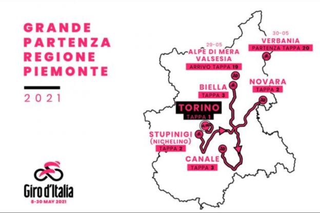 Giro d'Italia, domani si passa da Asti direzione Canale