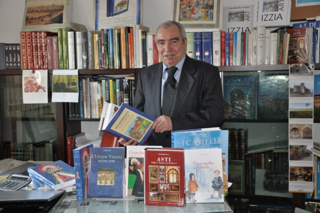 È morto l'editore astigiano Lorenzo Fornaca
