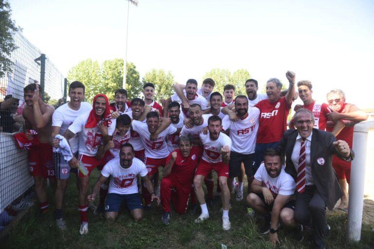 L'Asti Calcio vola in serie D