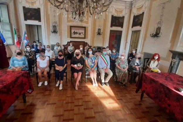 Una delegazione del Cif in visita alla mostra sulle madri costituenti a San Damiano