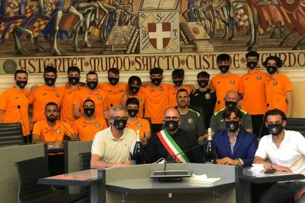 Asti, l'Orange Futsal ricevuta in Comune