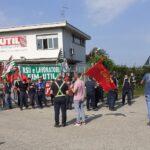 Aria di sciopero alla Util di Villanova