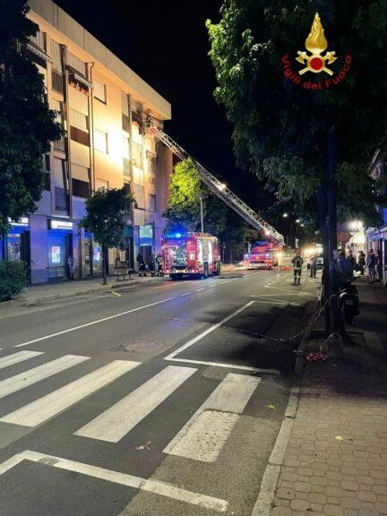 Asti, incendio in un appartamento di corso Savona